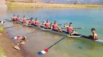 Con un marco espectacular en el Lago Potrerillos se llevo a cabo la 75° edición Regata Vendimia